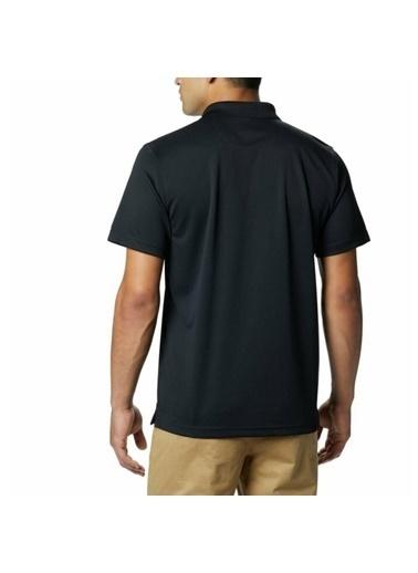 Columbia Utilizer Erkek Siyah Günlük Polo Tişört Ao0126-010 Siyah